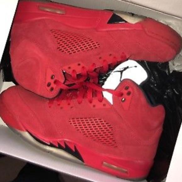 67b3cebc172022 Nike Air Jordan Retro V 5 Suede
